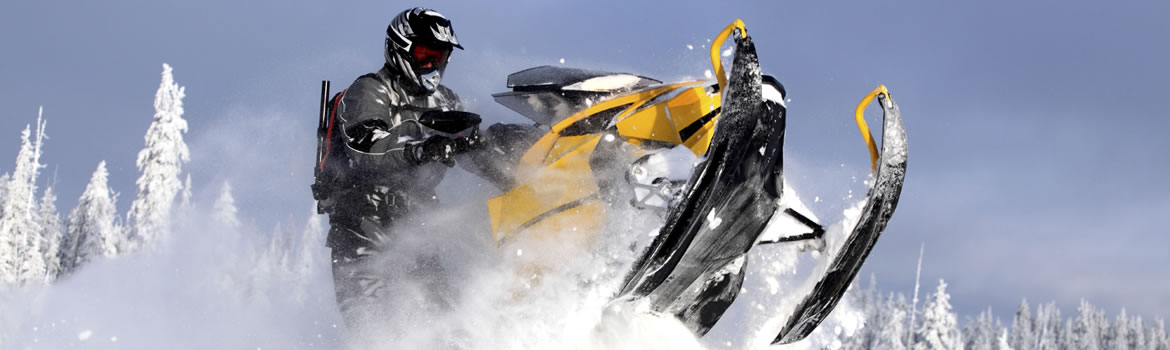 header image for snowmobile loans